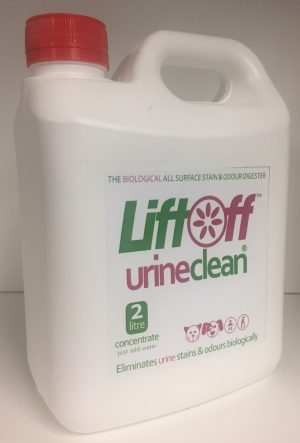 LiftOff Urine Clean Concentrate 2 Litres